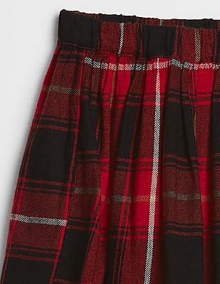 GAP Girls Black Flannel Flippy Skirt