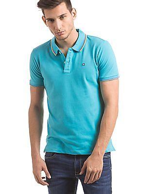 Arrow Sports Tipped Regular Fit Polo Shirt