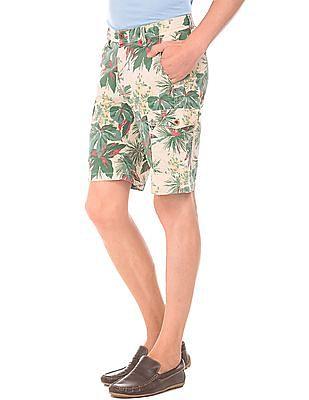 Gant Tropical Print Cotton Shorts