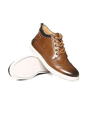 U.S. Polo Assn. High Top Lace Up Sneakers