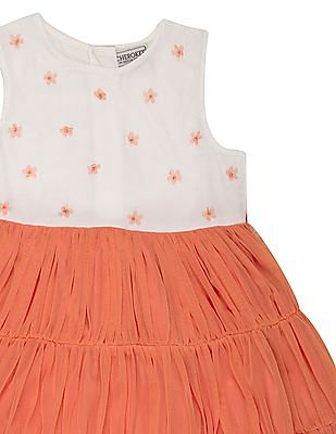 Cherokee Girls Tiered Fit And flare Dress
