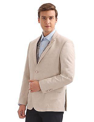 Arrow Regular Fit Blazer With Waistcoat