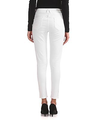 U.S. Polo Assn. Women Super Skinny Fit Mid Rise Jeans