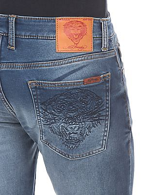 Ed Hardy Stone Wash Jogger Jeans