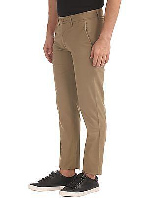 Izod Slim Fit Printed Trousers