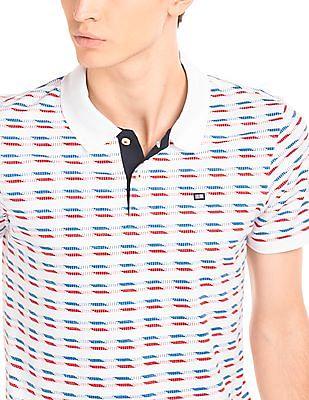 Arrow Sports Printed Regular Fit Polo Shirt
