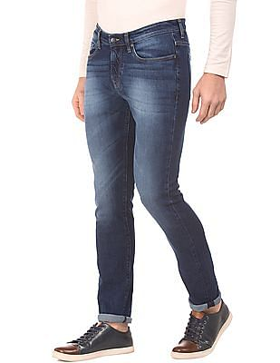 Aeropostale Skinny Fit Stone Washed Jeans