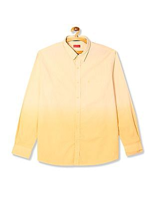 Izod Slim Fit Ombre Shirt
