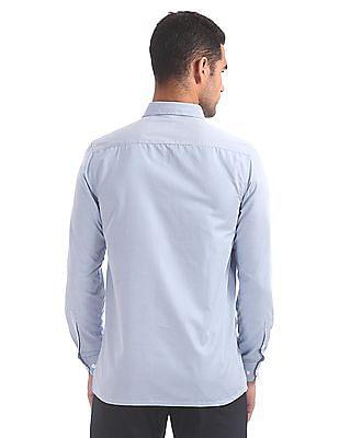 Excalibur Semi Cutaway Collar Check Shirt