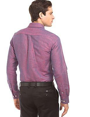 Arrow Two Tone Mini Check Shirt