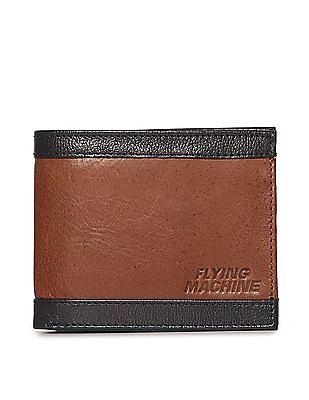 Flying Machine Bi Fold Colour Block Wallet