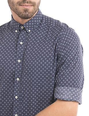 Gant Fitted Floral Print Shirt