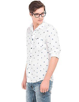 Colt Printed Cotton Shirt