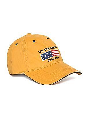 U.S. Polo Assn. Logo Flag Twill Baseball Cap