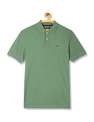 Arrow Sports Regular Fit Solid Polo Shirt