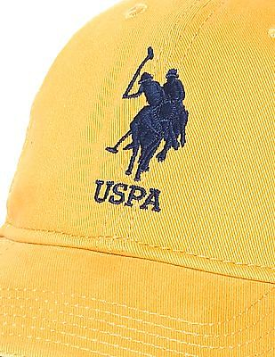 U.S. Polo Assn. Embroidered Logo Twill Cap