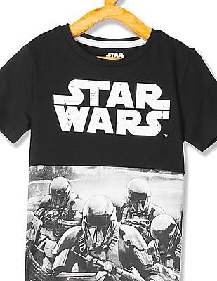 FM Boys Boys Star Wars Print T-Shirt