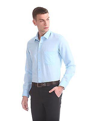 Arrow Regular Fit Linen Shirt