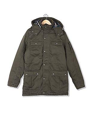 U.S. Polo Assn. Denim Co. Standard Fit Hooded Jacket