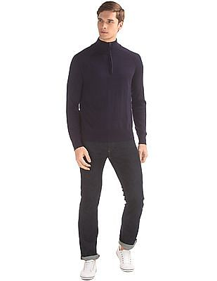 GAP Merino Half Zip Sweater
