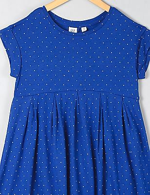 GAP Girls Print Babydoll Dress