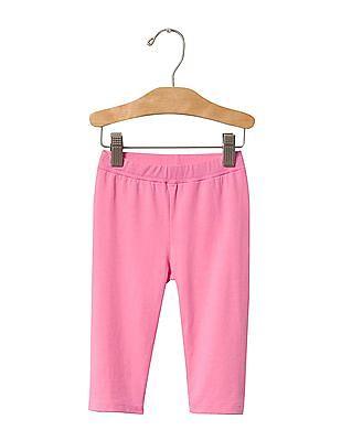 GAP Baby Pink Crop Leggings