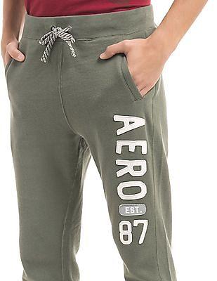 Aeropostale Drawstring Waist Knitted Track Pants