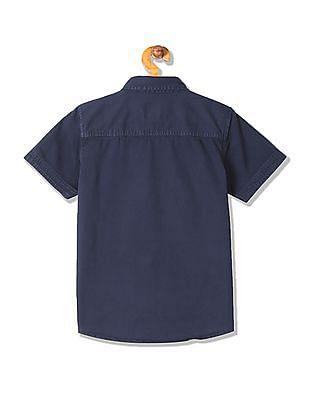 Cherokee Boys Short Sleeve Twill Shirt
