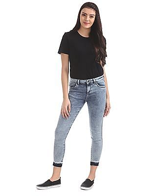 Cherokee Skinny Fit Stone Washed Jeans
