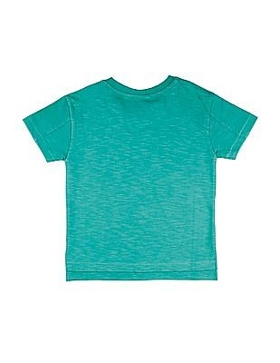 Cherokee Boys Printed Front Slubbed T-Shirt