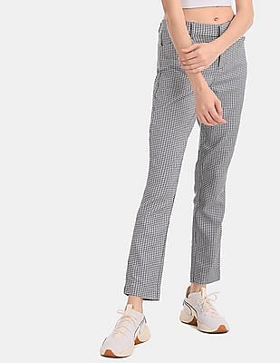 GAP White Skinny Fit Ankle Length Pants