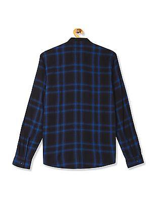 Colt Stand Collar Check Shirt
