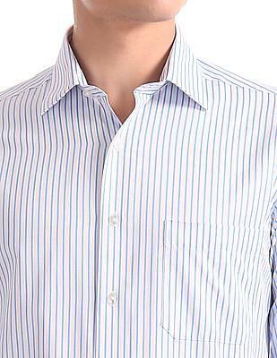Arrow Slim Fit Striped Shirt