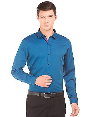 Elitus Patterned Slim Fit Shirt