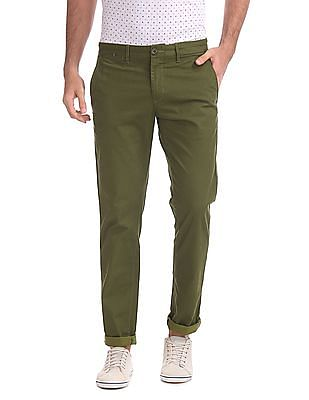 Ruggers Modern Fit Printed Trousers