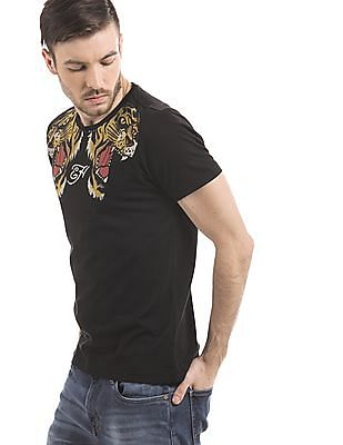 Ed Hardy Regular Fit Printed T-Shirt