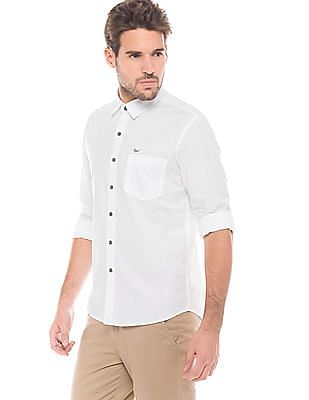 Flying Machine Long Sleeve Regular Fit Shirt