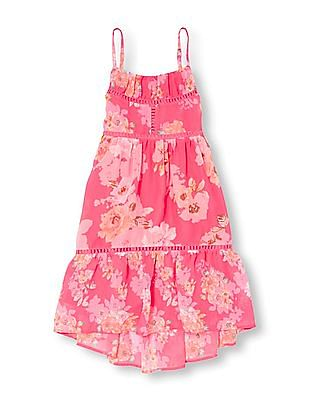 The Children's Place Girls Floral Print Sleeveless Dress