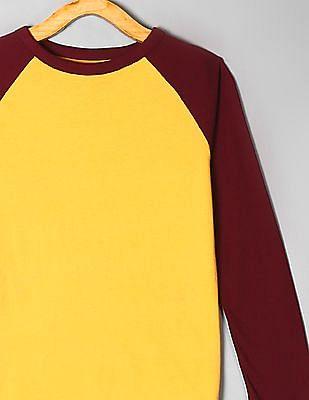 GAP Yellow Boys Raglan T-Shirt