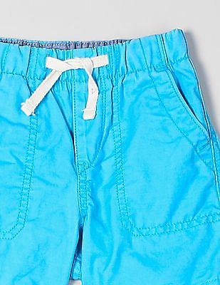 GAP Baby Twill Pull On Shorts