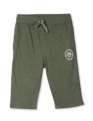 Stretch Cotton Twill Cargo Medium Grey 2 Boys Big Short Polo Assn U.S