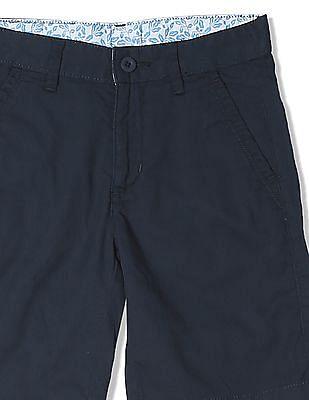 FM Boys Boys Solid Cotton Shorts