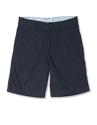 FM Boys Boys Solid Cotton Shorts