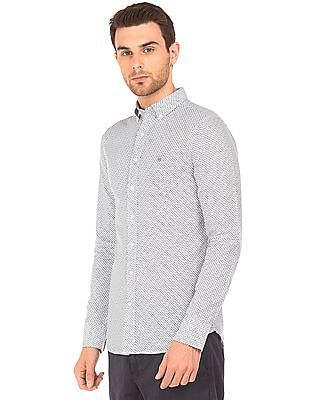 Gant Floral Print Button Down Shirt