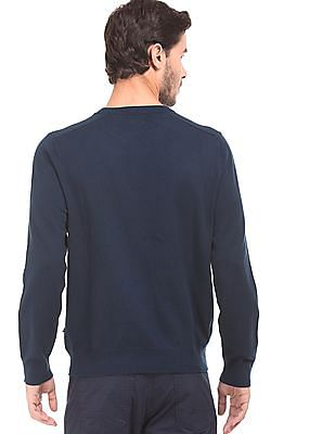 Nautica Crew Neck Pima Cotton Sweater