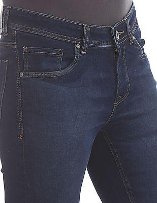 Colt Blue Skinny Fit Stone Wash Jeans