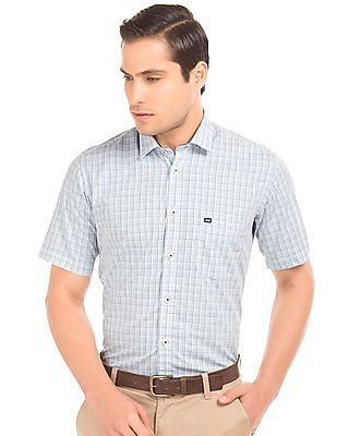 Arrow Sports Check Cotton Shirt