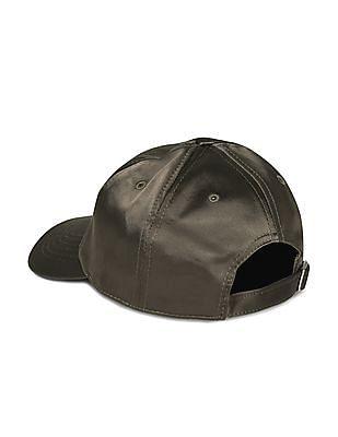 Aeropostale Solid Satin Baseball Cap