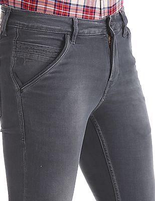 Flying Machine Slim Tapered Fit Dark Wash Jeans