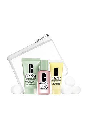 CLINIQUE 3 Step Skin Care System - Oily And Combination Skin